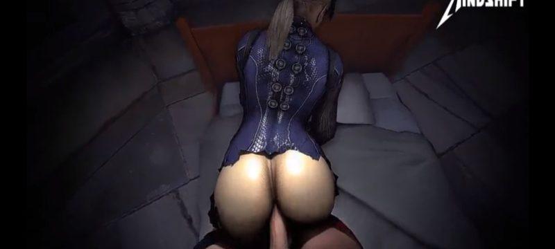 Sexo anal animado